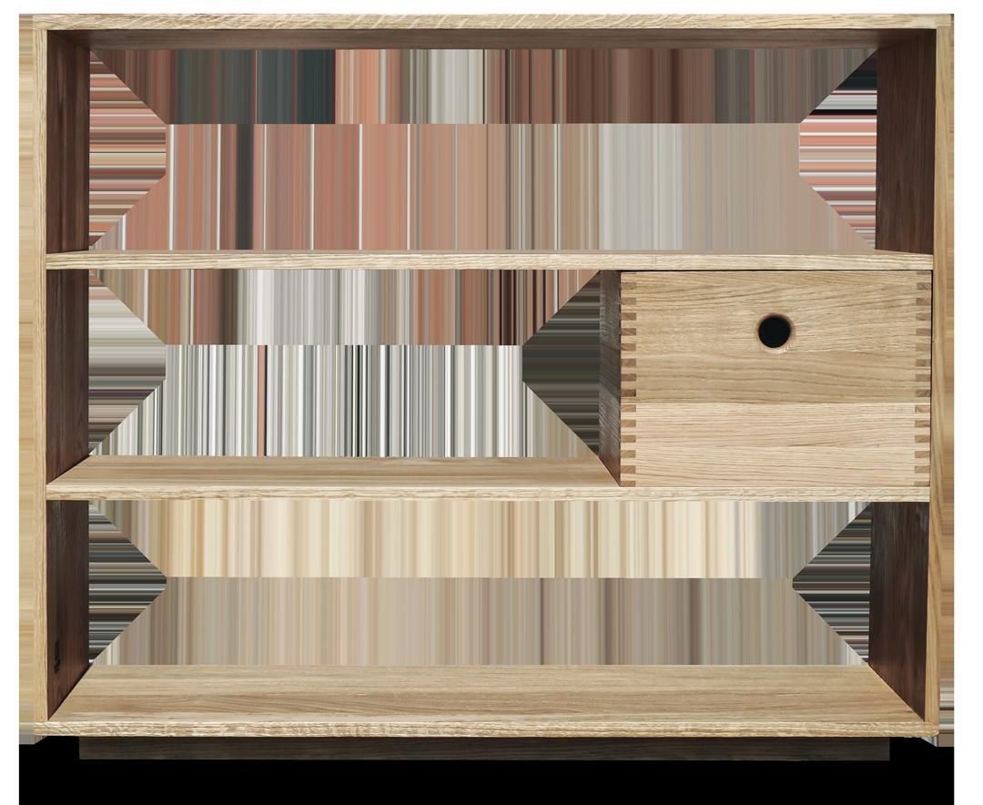 træsmeden reol diverse møbler