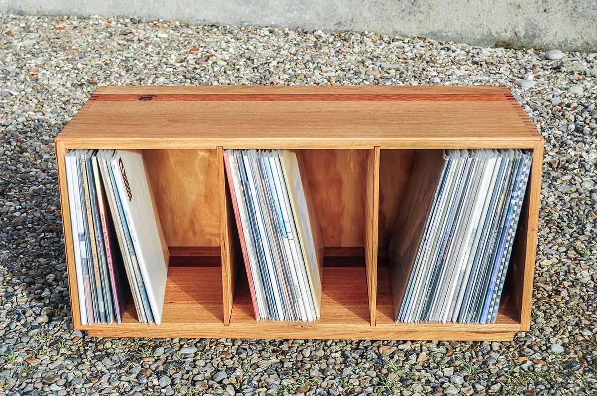 traesmeden lp vinyl reol